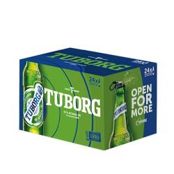 Tuborg Beer 330 ml  x 24Bottles